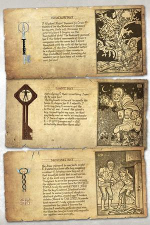 Locke and Key: Guide to the Known Keys - Bonus Material by Gabriel Rodriguez