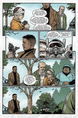 Locke and Key: Omega 2 - Comic Page with Panels by Gabriel Rodriguez
