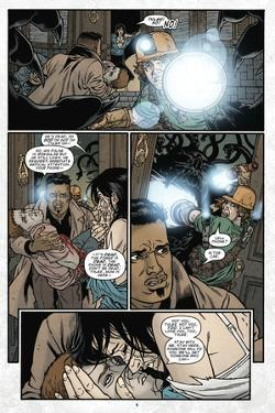 Locke and Key: Omega 5 - Comic Page with Panels by Gabriel Rodriguez