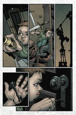 Locke and Key: Volume 1 Welcome to Lovecraft - Comic Page with Panels by Gabriel Rodriguez