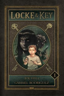 Locke and Key: Volume 1 Welcome to Lovecraft - Cover Art by Gabriel Rodriguez