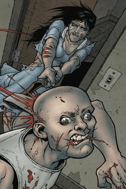Locke and Key: Volume 1 Welcome to Lovecraft - Full-Page Art by Gabriel Rodriguez