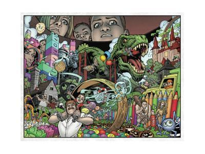Locke and Key: Volume 1 Welcome to Lovecraft - Page Spread by Gabriel Rodriguez