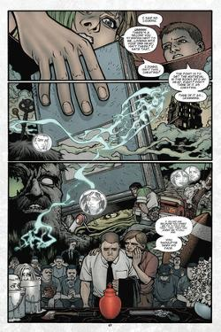 Locke and Key: Volume 2 - Comic Page with Panels by Gabriel Rodriguez