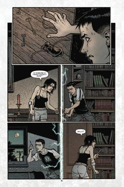 Locke and Key: Volume 3 - Comic Page with Panels by Gabriel Rodriguez