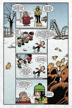 Locke and Key: Volume 4: Keys to the Kingdom - Comic Page with Panels by Gabriel Rodriguez