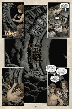 Locke and Key: Volume 5 - Comic Page with Panels by Gabriel Rodriguez