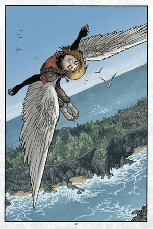 Locke and Key: Volume 5 - Full-Page Art by Gabriel Rodriguez