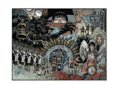 Locke and Key: Volume 5 - Page Spread by Gabriel Rodriguez