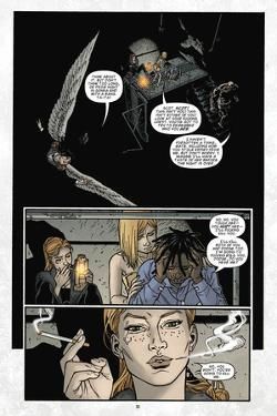 Locke and Key: Volume 6 - Comic Page with Panels by Gabriel Rodriguez