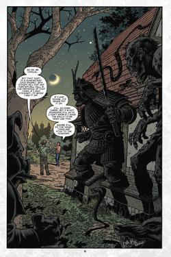 Locke and Key: Volume 6 - Full-Page Art by Gabriel Rodriguez