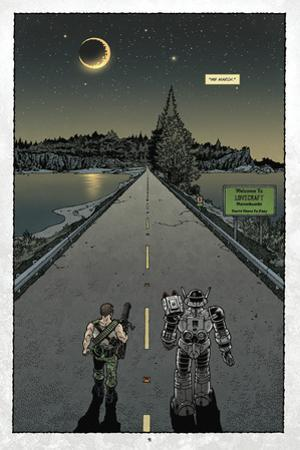 Locke and Key: Volume 6 - Full-Page Art by Gabriel Rodriguez
