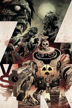 Zombies vs. Robots: Volume 1 - Cover Art by Gabriel Rodriguez