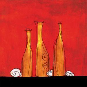 Three Bottles by Gabriel Scott
