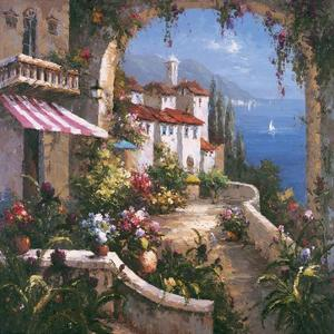 Mediterranean Arches I by Gabriela