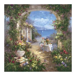 Mediterranean Arches II by Gabriela