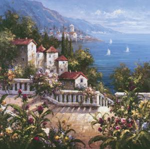 Mediterranean Arches III by Gabriela