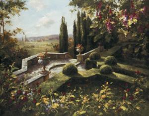 Mystic Garden I by Gabriela