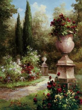 Secret Garden Path by Gabriela