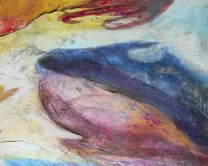 Fuchsia Expression III by Gabriela Villarreal