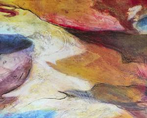 Fuchsia Expression IV by Gabriela Villarreal