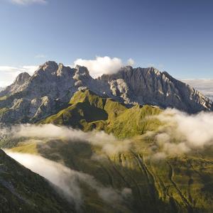 Italy, Friuli-Venezia Giulia, Carnia, View from the Summit by Gabriele Bano