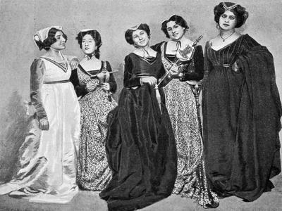 Maids, Scene from Francesca Da Rimini