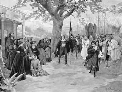 Scene from Act III of Daughter of Jorio