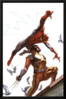 Secret Invasion No.7 Cover: Spider-Man and Wolverine by Gabriele DellOtto