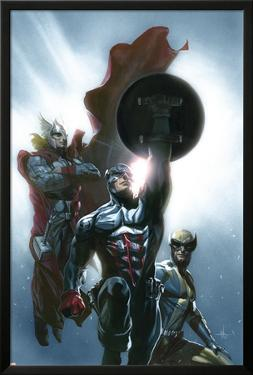 Secret Invasion No.8 Cover: Captain America, Wolverine and Thor by Gabriele DellOtto