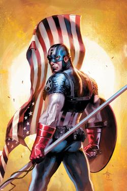 Ultimate Origins No.2 Cover: Captain America by Gabriele DellOtto