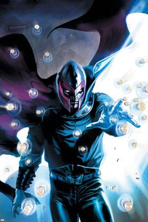 Ultimate Origins No.3 Cover: Magneto by Gabriele DellOtto