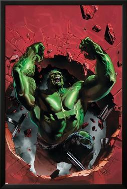 Ultimate Origins No.4 Cover: Hulk by Gabriele DellOtto