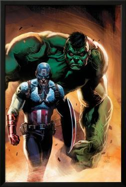 Ultimate Origins No.5 Cover: Captain America and Hulk by Gabriele DellOtto