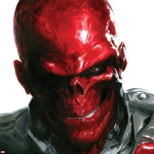 Vengeance No.5 Cover: Headshot of Red Skull by Gabriele DellOtto