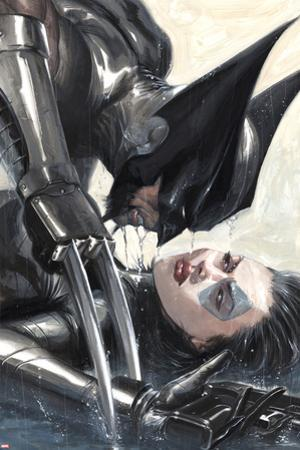 X-Force: Sex and Violence No.2 Cover: Wolverine and Domino by Gabriele DellOtto