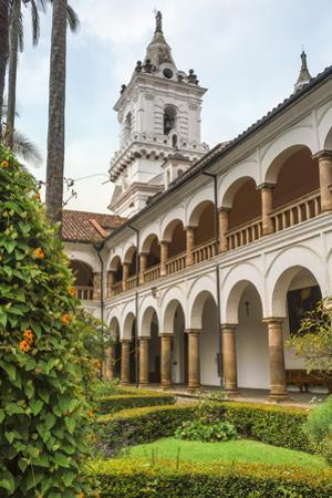 Cloister, San Francisco Church and Convent, Quito