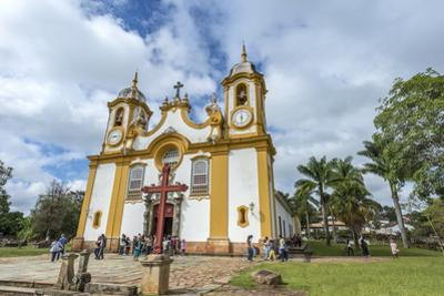 Matriz De Santo Antonio Church, Tiradentes, Minas Gerais, Brazil, South America