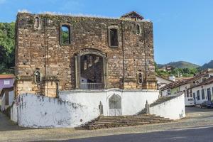 Nossa Senhora Do Rosario Church, Sabara, Belo Horizonte, Minas Gerais, Brazil, South America by Gabrielle and Michael Therin-Weise