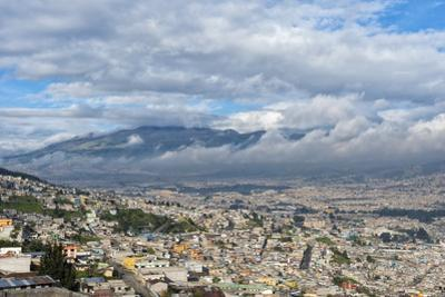Panorama over Quito, Pichincha Province, Ecuador, South America