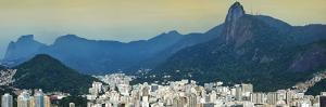 View over Botafogo and the Corcovado from the Sugar Loaf Mountain by Gabrielle and Michael Therin-Weise