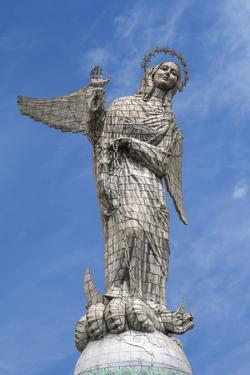 Virgin Mary De Quito Statue, El Panecillo Hill, Quito, Pichincha Province, Ecuador, South America by Gabrielle and Michael Therin-Weise
