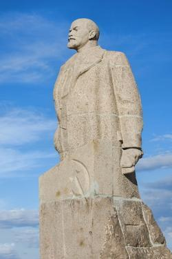 Lenin Statue, Siberian City of Anadyr, Chukotka Province, Russian Far East, Russia, Eurasia by Gabrielle and Michel Therin-Weise