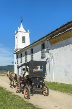 Nossa Senhora Das Dores Chapel, Paraty, Rio De Janeiro State, Brazil, South America by Gabrielle and Michel Therin-Weise