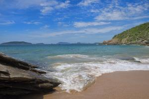 Praia Das Caravelas, Rocky Beach, Buzios, Rio De Janeiro State, Brazil, South America by Gabrielle and Michel Therin-Weise