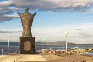 Saint Nicholas Statue, Siberian City Anadyr, Chukotka Province, Russian Far East, Eurasia by Gabrielle and Michel Therin-Weise