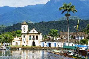 Santa Rita Church, Paraty, Rio De Janeiro State, Brazil, South America by Gabrielle and Michel Therin-Weise