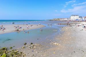 Wimereux Beach, Cote D'Opale, Region Nord-Pas De Calais, France, Europe by Gabrielle and Michel Therin-Weise