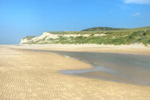 Wissant Beach Near Cap Blanc-Nez, Cote D'Opale, Region Nord-Pas De Calais, France, Europe by Gabrielle and Michel Therin-Weise