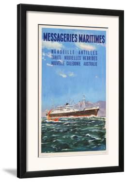 Mess Maritimes - Marseille Antilles by Gachons